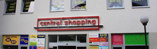 Central shopping -