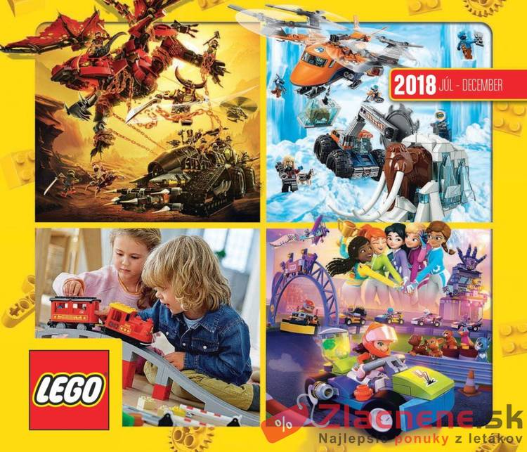 Leták Tesco - Tesco LEGO 23.8. - 31.12. - strana 1