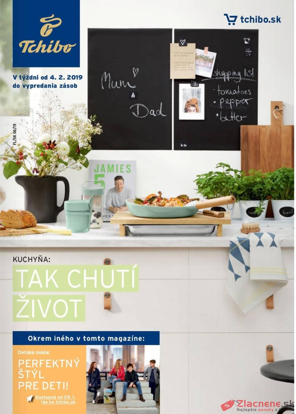 Leták Tchibo - Tchibo magazín 5.2. - 19.3. - strana 1