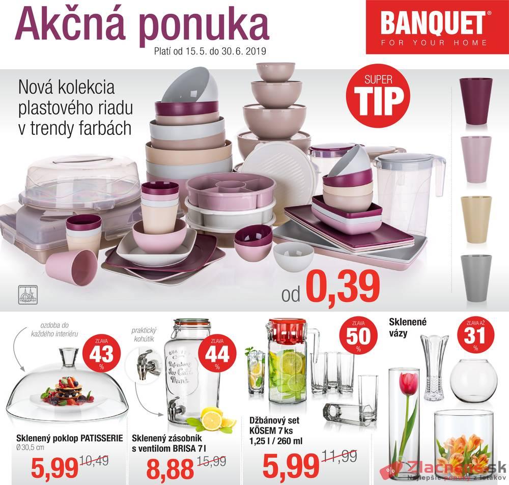 Leták BANQUET  - Banquet 15.5. - 30.6. - strana 1