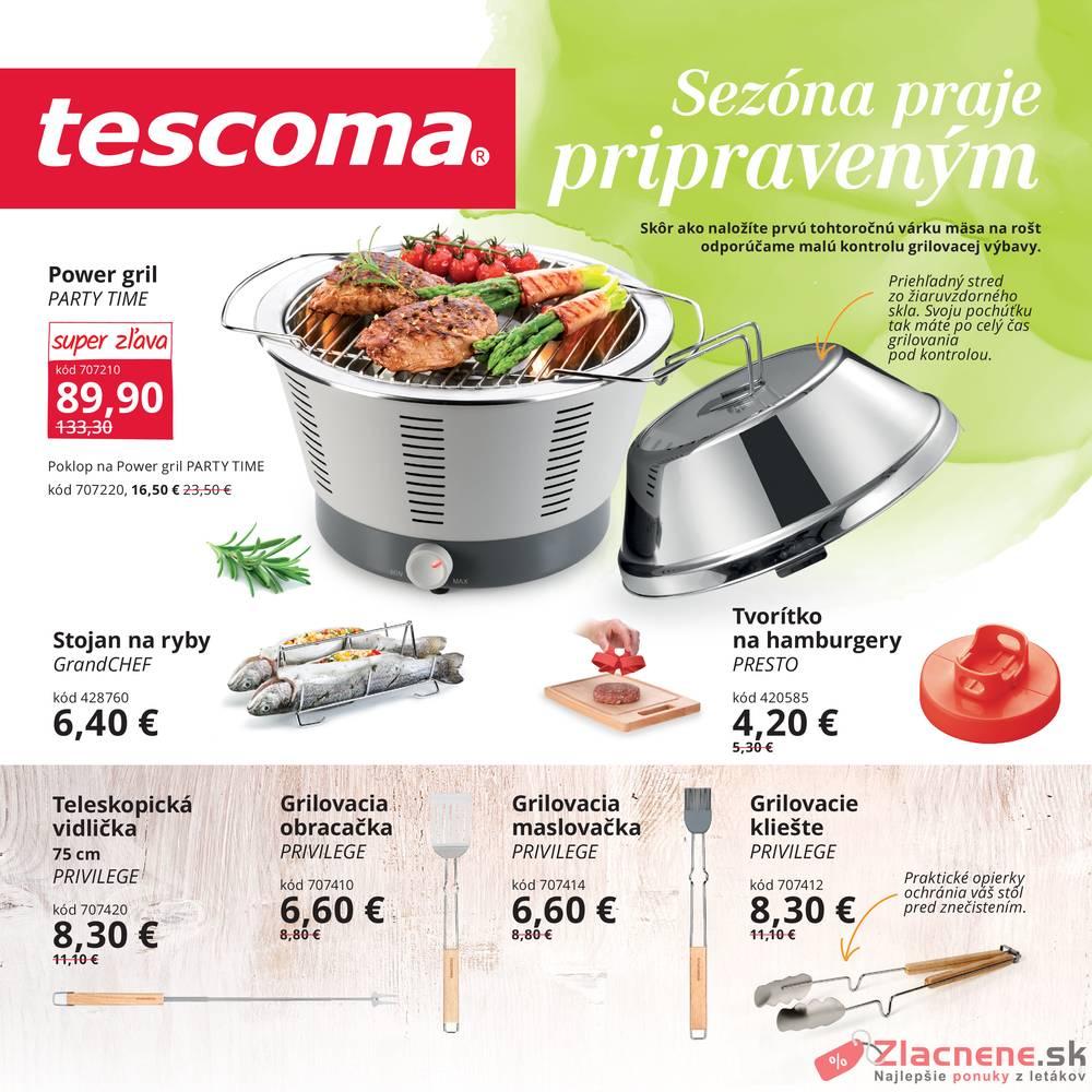 Leták Tescoma - Tescoma II. od 1.6. do 31.8.2019 - strana 1