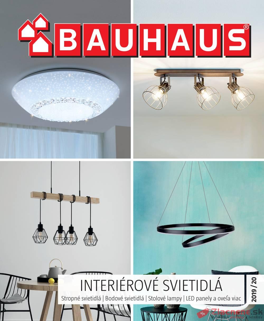 Leták Bauhaus - Bauhaus INTERIÉROVÉ SVIETIDLÁ od 30.9. do 31.1.2020 - strana 1