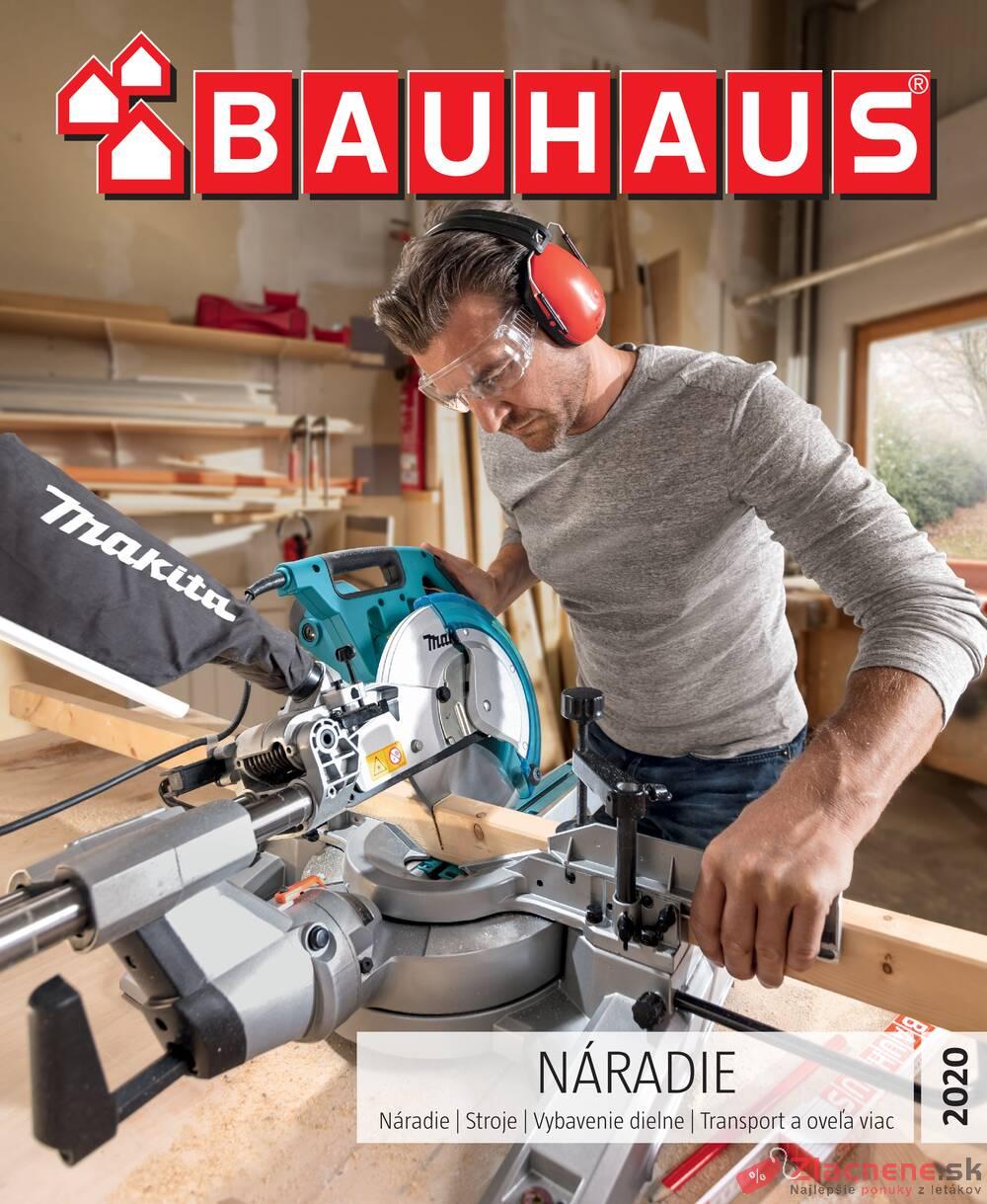 Leták Bauhaus - Bauhaus NÁRADIE 28.1. - 31.8. - strana 1