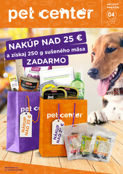 Letáky Pet Center