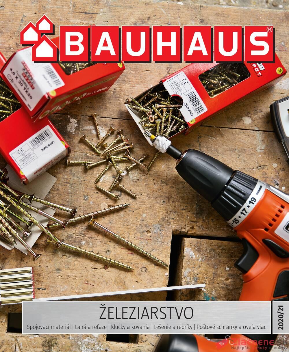 Leták Bauhaus - Bauhaus Železiarstvo od 10.11. do 30.6.2021 - strana 1