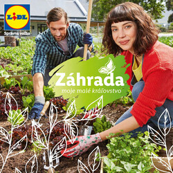 Leták Lidl Zahrada do 30.4.