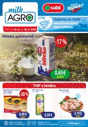 Leták MILK - AGRO