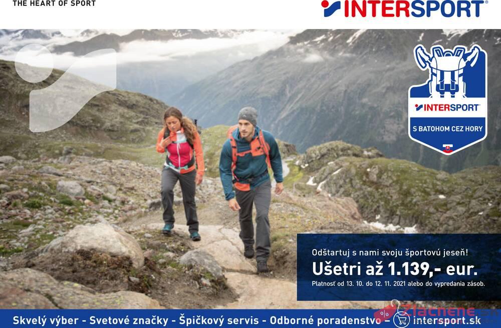 Leták INTERSPORT - Intersport  od 13.10. do 12.11.2021 - strana 1