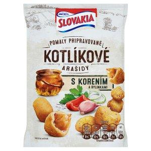 Slovakia Kotlíkové Arašidy 150 g