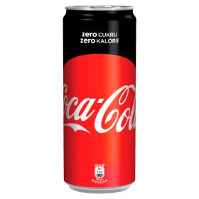 Coca-Cola 330 ml, vybrané druhy