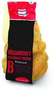 Zemiaky konzumné neskoré, varný typ B 3 kg
