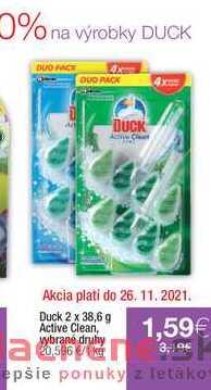 Duck 2 x 38,69 Active Clean
